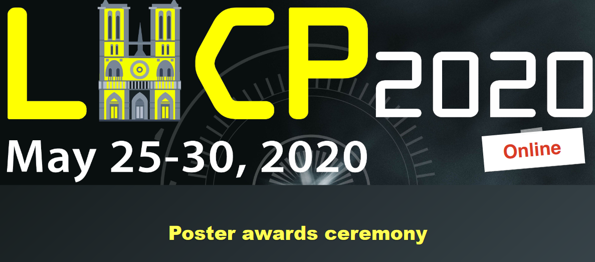 A best-poster award for IJCLab at the LHCP2020 Conference