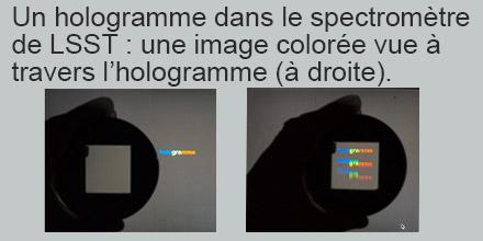 Un hologramme pour améliorer les performances du LSST
